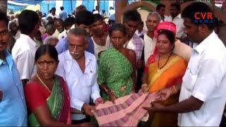 Manam Janam Social Service Center Distributed Blankets for Cyclone Victim Farmers in Srikakulam |CVR - CVRNEWSOFFICIAL