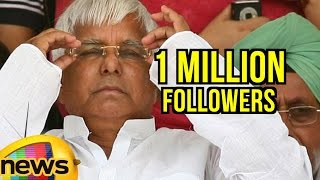 Lalu Prasad Joins 1 Million Followers Club On Twitter | Mango News - MANGONEWS