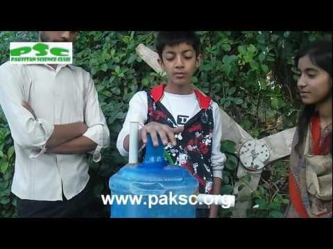 Mini Biogas Plant (Anaerobic Digester) Construction (Urdu) Part 1/3