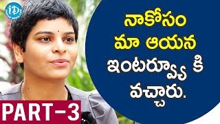 Costume Designer Niharika Reddy Interview - Part #3 || Frankly With TNR - IDREAMMOVIES