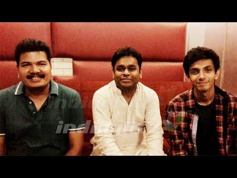 Anirudh renders his voice for A.R. Rahman   AI Tamil Movie, Songs   Hot Cinema News