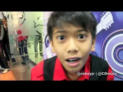 Coboy Jr. Dahsyat RCTI 11 Desember 2011 - Behind The Stage