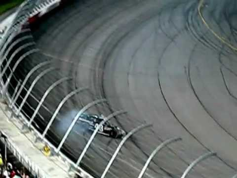 2012 Bojangles Southern 500 -- Jimmie Johnson's burnout