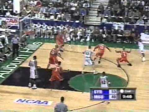 3/23/2000 - Michigan State 75  Syracuse 58