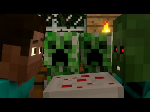 I Baked a Cake Just for You A Surreal Minecraft Music Video
