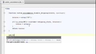 Restringir métodos de envio por estados no WooCommerce – WordPress