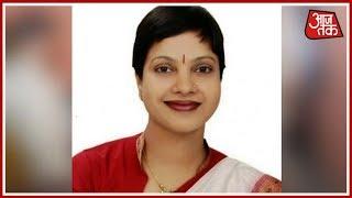 BJP MLA Anita Rajput Gets Rs 10 Lakh Extortion Threat Over WhatsApp | 100 Shehar 100 Khabar - AAJTAKTV