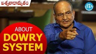 K Viswanath About Dowry System || Viswanadhamrutham (Subhalekha) || #Chiranjeevi || #Parthu - IDREAMMOVIES