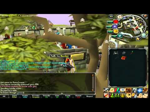 Runescape Main Crucible Pking + Ranged Tank Wilderness Pking Livestream Footage