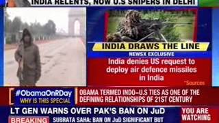 Obama in India: US snipers to guard Barack Obama on Republic Day - NEWSXLIVE