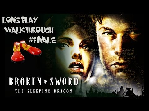 BROKEN SWORD 3 THE SLEEPING DRAGON - WALK THROUGH SOLUTION #9 - CLOWN SHOE PLAYS!