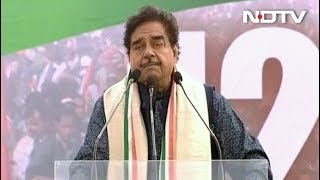 "Clarify On Rafale Or People Will Say ""Chowkidaar Chor Hai"": Shatrughan Sinha - NDTV"