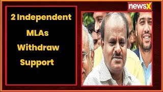 2 Independents withdraw support; 3 Congress MLAs missing - NEWSXLIVE