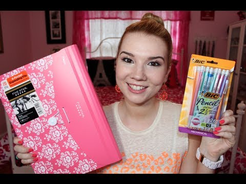 School Supplies Haul! -ByvU6QCRvCE