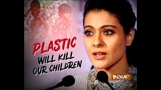 Kajol: We should say no to plastic - INDIATV