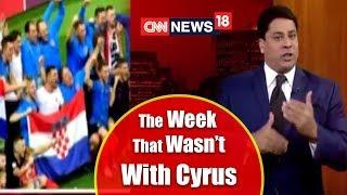 Cyrus Broacha on Fifa World Cup, HD Kumaraswamy, Mumbai Rain & More | CNN News18 - IBNLIVE