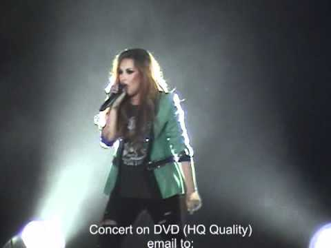 Demi Lovato Lima Peru 17 Abr 2012 en DVD All Night Long