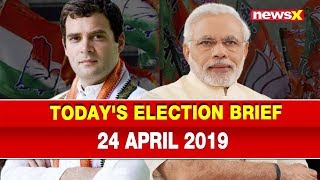 Election 2019 News: Udit Raj joins Congress; PM Narendra Modi to file nomination on April 26 - NEWSXLIVE