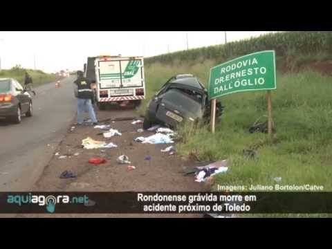 AquiAgora.net - Rondonense grávida morre em acidente próximo de Toledo
