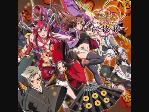Hyakka Ryouran Samurai Girls OST 1-Track 19 Dainippon wo Oou Kage
