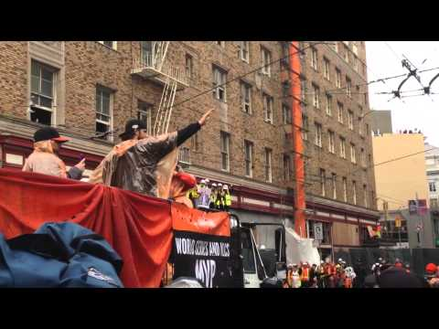 Madison Bumgarner - World Series victory parade