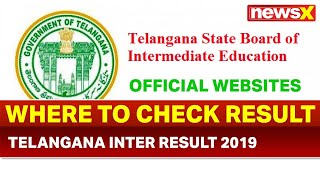 TS Telangana Board Inter 10th Results 2019 on April 18; Where to check Telangana inter result 2019 - NEWSXLIVE