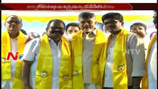 YSRCP Leader Gutthula Sai Joins TDP in East Godavari District || NTV - NTVTELUGUHD