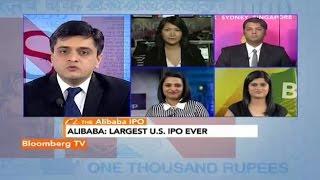 In Business- Alibaba: Largest U.S. IPO Ever? - BLOOMBERGUTV