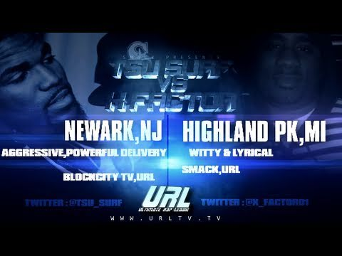 SMACK/ URL Presents X-Factor vs Tsu Surf