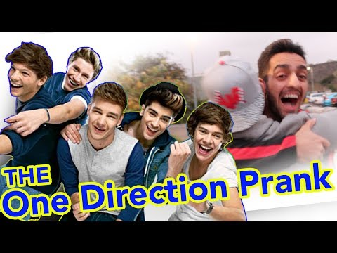 ONE DIRECTION FAN GETS PRANKED!