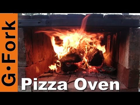 Brick Pizza Oven portable wood fired GardenFork.TV