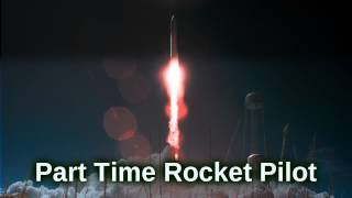 Royalty Free Part Time Rocket Pilot:Part Time Rocket Pilot