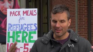 College Students Unite to Bring Relief to Refugees - VOAVIDEO