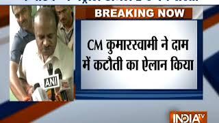 Karnataka CM HD Kumaraswamy announces Rs 2 cut in petrol, diesel prices - INDIATV