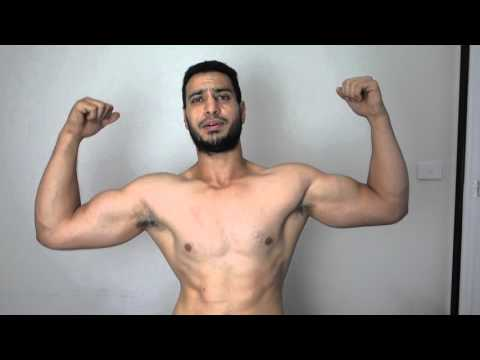 before video - 12 week body transformation