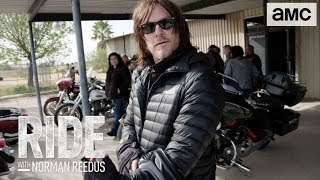 'X-Files' Season 3 Diary | Ride with Norman Reedus - AMC