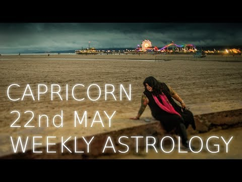 Capricorn Weekly Astrology Forecast May 22nd  2017