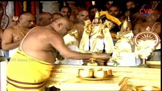 Srivari Chakra Snanam In Tirumala | TTD Brahmotsavam 2018 Celebrations | CVR NEWS - CVRNEWSOFFICIAL