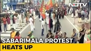 Massive Protest Against Sabarimala Verdict To Reach Thiruvananthapuram - NDTV