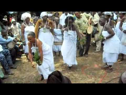 Orisha Dance from Ijebu during Oshun festival in Osogbo, Nigeria