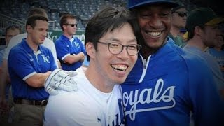 SungWoo Lee, the Human Good Luck Charm, is Back in Kansas City - ABCNEWS