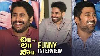 Chi La Sow Movie Team Funny Interview | Naga Chaitanya | Sushanth | Rahul | TFPC - TFPC