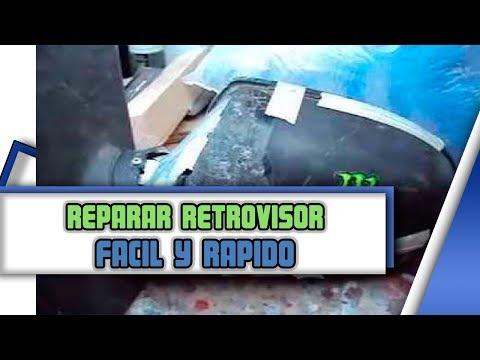 reparacion de retrovisor [Ford fiesta][mirror]