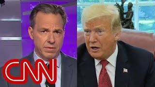 Jake Tapper calls out Trump's 'stunningly dismissive' tone - CNN