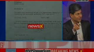 VVIP Chopper Scam: Agusta Coup exclusive on NewsX - NEWSXLIVE