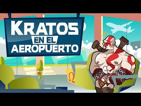 NerdToons: Kratos en el Aeropuerto