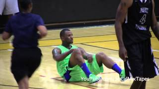 The Game Falls While Celebrating A 3 In Drew League