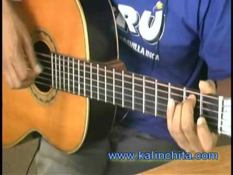 Ahora - Alberto Plaza - Como tocar en guitarra