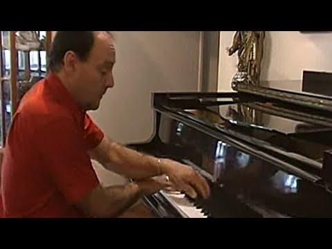 GAROTA DE IPANEMA tom jobim/ musica novela flor do caribe/ aquele beijo nacional/ piano instrumental