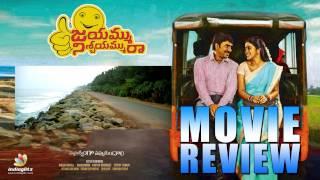 Jayammu Nischayammu Raa Movie Review & Rating   Srinivasa Reddy   Poorna - IGTELUGU